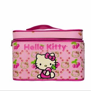 Hello Kitty Cosmetic Train Case As Is